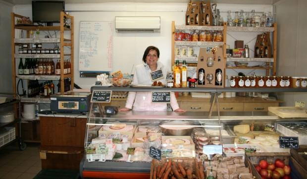 La vente directe à la ferme de Saint Thibault