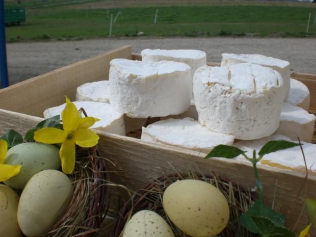 Le fromage frais St Didier, nouvelle création fromagère