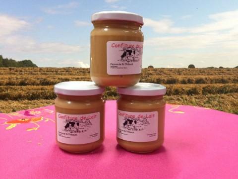La confiture de lait, le nouveau produit vendu à la ferme de Saint-Thibault-des-Vignes