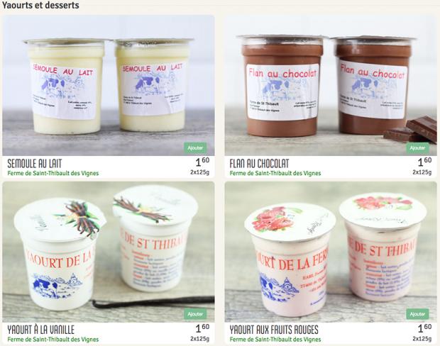 Les produits de la ferme disponibles en livraison sur lecomptoirlocal.fr