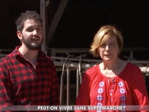 La Ferme de St Thibault dans un reportage de TF1 sur la vente directe