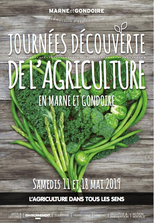 Affiche des journées de découverte de l'agriculture