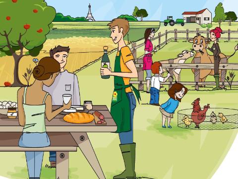 Découvrez la 23ème édition de la balade du goût avec la Ferme de Saint Thibault